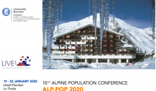 10th Alpine population conference