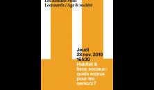 Rendez-vous Leenaards - Âge et société 2019