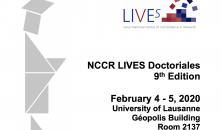NCCR LIVES Doctoriales