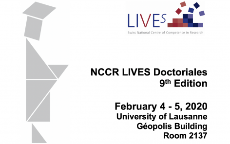 NCCR LIVES Doctoriales 2020 - 9th edition