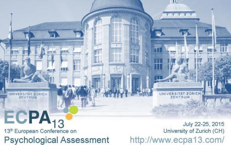 13th European Conference on Psychological Assessment in Zurich with sessions on life course