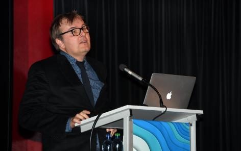 Eric Widmer a évoqué l'histoire du PRN LIVES, dont le rôle clé du laboratoire PAVIE. ©Martine Dutruit